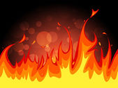 Copyspace Fire Indicates Flame Blaze And Fiery — Stock Photo