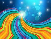 Glow Swirl Indicates Blank Space And Background — Zdjęcie stockowe