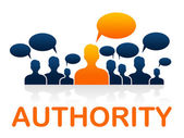 Authority Team Indicates Manager Unity And Control — Foto Stock