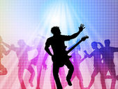 Music Concert Represents Live Event And Broadway — Foto Stock
