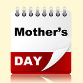 Mothers Day Shows Mum Month And Date — Stock Photo