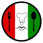 Постер, плакат: Food Hungary Indicates Eatery Culinary And Cafes