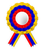 Columbian Rosette Means South America And Celebration — Stock Photo