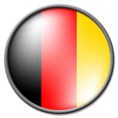 German Badge Indicates National Flag And Badges — Stock Photo