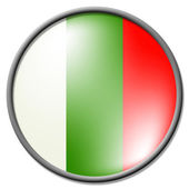 Bulgarian Badge Shows National Flag And Country — Stock Photo