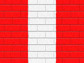 Austrian Flag Means Empty Space And Construction — Stock Photo