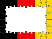 Germany Jigsaw Shows Text Space And Copy — Stock Photo