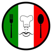 Italy Food Indicates Foods Foodstuff And Europe — 图库照片