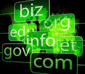 Biz com net shows websites internet or seo — Photo