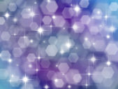 Lilac background with boke effect and stars — Stock Photo