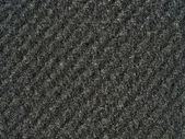 Textura de tecido preto - pano de lã grossa — Foto Stock