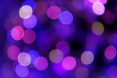 Festive blue and purple background with boke — Stock Photo