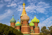 Cathedral at Red Square. Moscow, Russia — Stock Photo