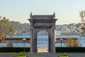 Gates in Dolmabahce — Stock Photo