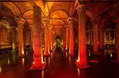 подземная базилика цистерна, стамбул, турция — Стоковое фото