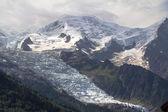 Lodowiec - mont blanc — Zdjęcie stockowe