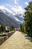 Mont Blanc Glacier — Foto Stock