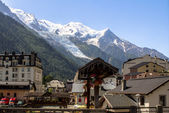 Mont Blanc Glacier — Stock Photo