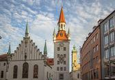 ミュンヘンの古い市庁舎 — ストック写真