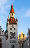 Old Town Hall in Munich — Stock Photo
