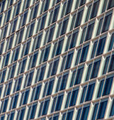 Windows of the Chilehaus (Chile House) office building in Hamburg, Germany. — Stock Photo