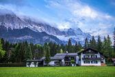 Alpen nachts — Stockfoto