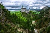 Slottet neuschwanstein — Stockfoto