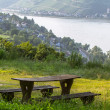 Stock Photo: Rhine River Valley