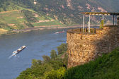 Rhine River Valley — Stock Photo