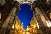 Rue Augusta Arch — Stock Photo
