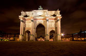Carousel Arch in Paris — Stock Photo