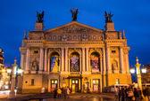 Lviv opera theater — Stockfoto