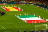 Final EURO 2012 — Stockfoto