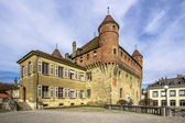 Old castle in Lausanne — Stock Photo