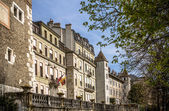 Old buildings in Geneva — Stock Photo
