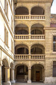 Slott i gamla staden genève — Stockfoto