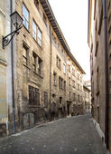 Old city of Geneva — Stockfoto