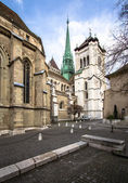 Old city of Geneva — Foto de Stock