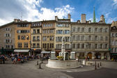 Old city of Geneva — Stock Photo