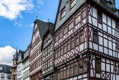 старый город roemerberg — Стоковое фото