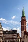 Römer in Frankfurt — Stock Photo