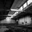 Abandoned industrial building — Stock Photo