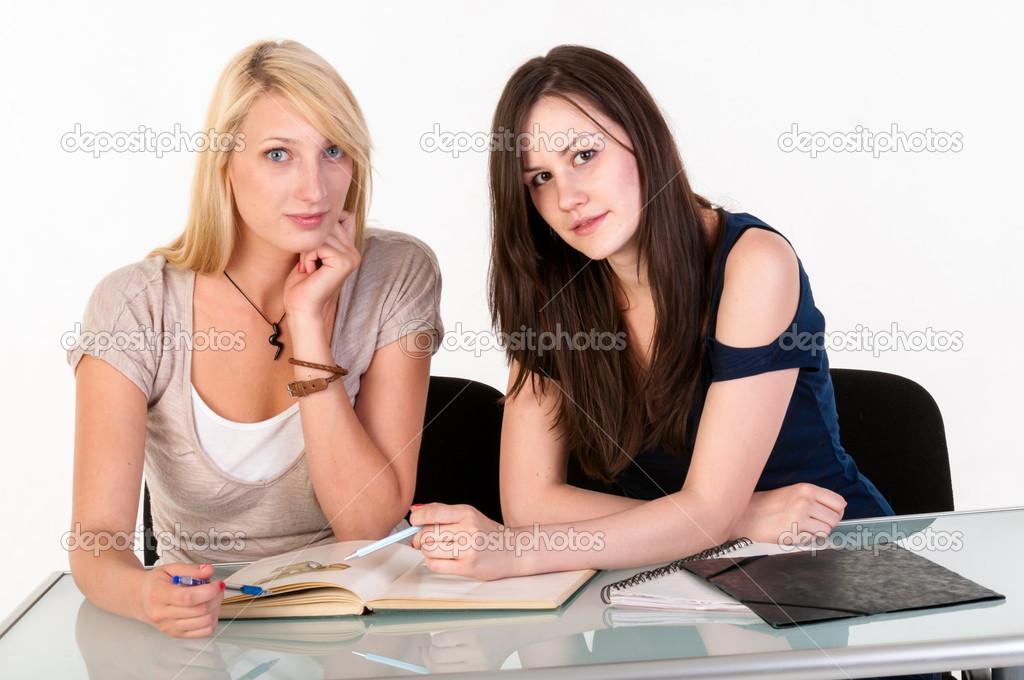 Девушки красивые в школе фото