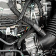 Closeup photo of clemotor block — Stockfoto #12486059