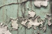Primer plano de una superficie pintada vieja — Foto de Stock
