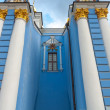 Royalty-Free Stock Photo: Church in blue colors