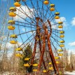 Постер, плакат: The ferris wheel of Pripyat