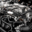 Closeup photo of a clean motor block — Stock Photo #13886802