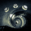 Round stairs in a church — Stock Photo #13887523