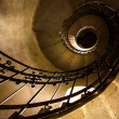 Round stairs in a church — Stock Photo #13887587